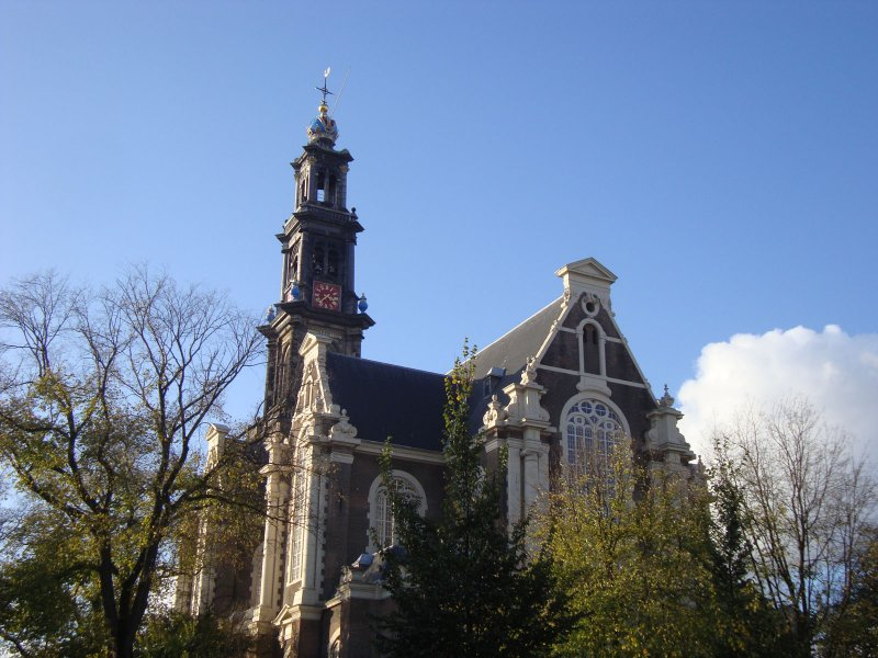 The Westerkerk, a famous Amsterdam landmark close to De 9 Straatjes
