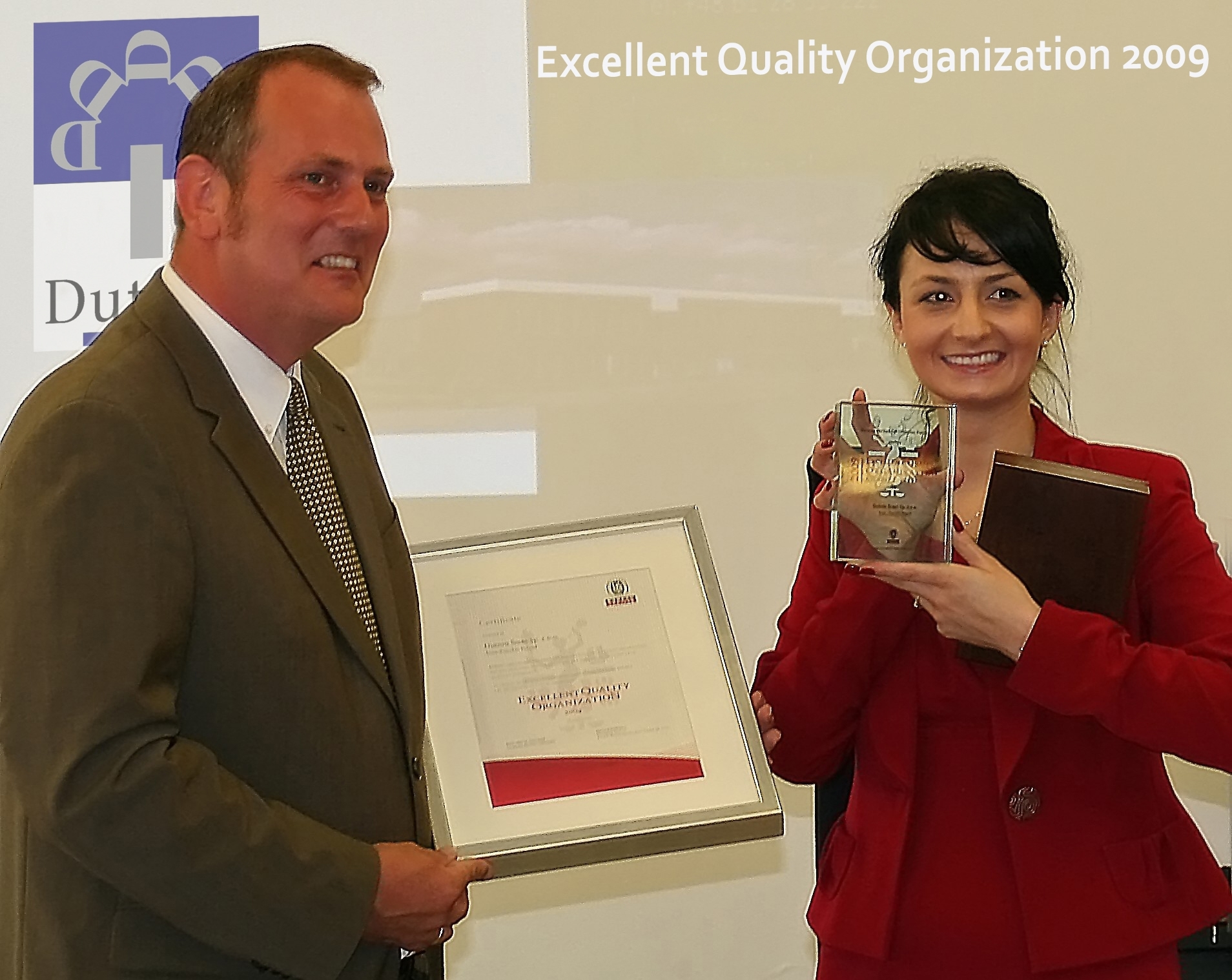 Excellent Quality Organization Award 2009